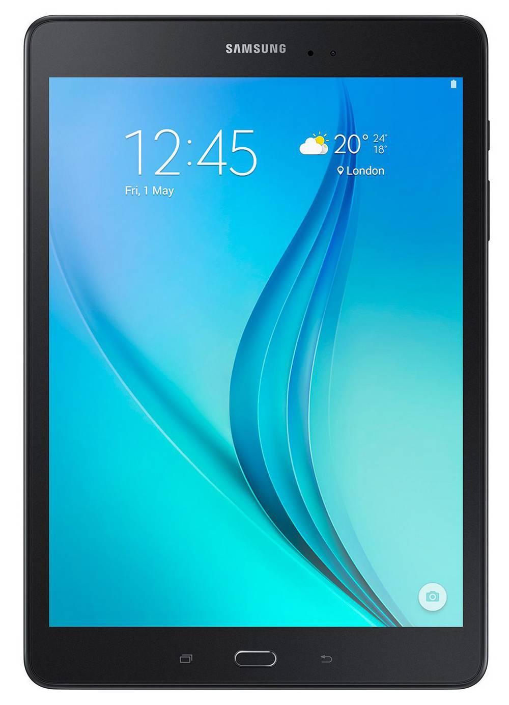 """Samsung Galaxy Tab A 9.7"""" SM-T550 WiFi 16GB Μαύρο EU"""