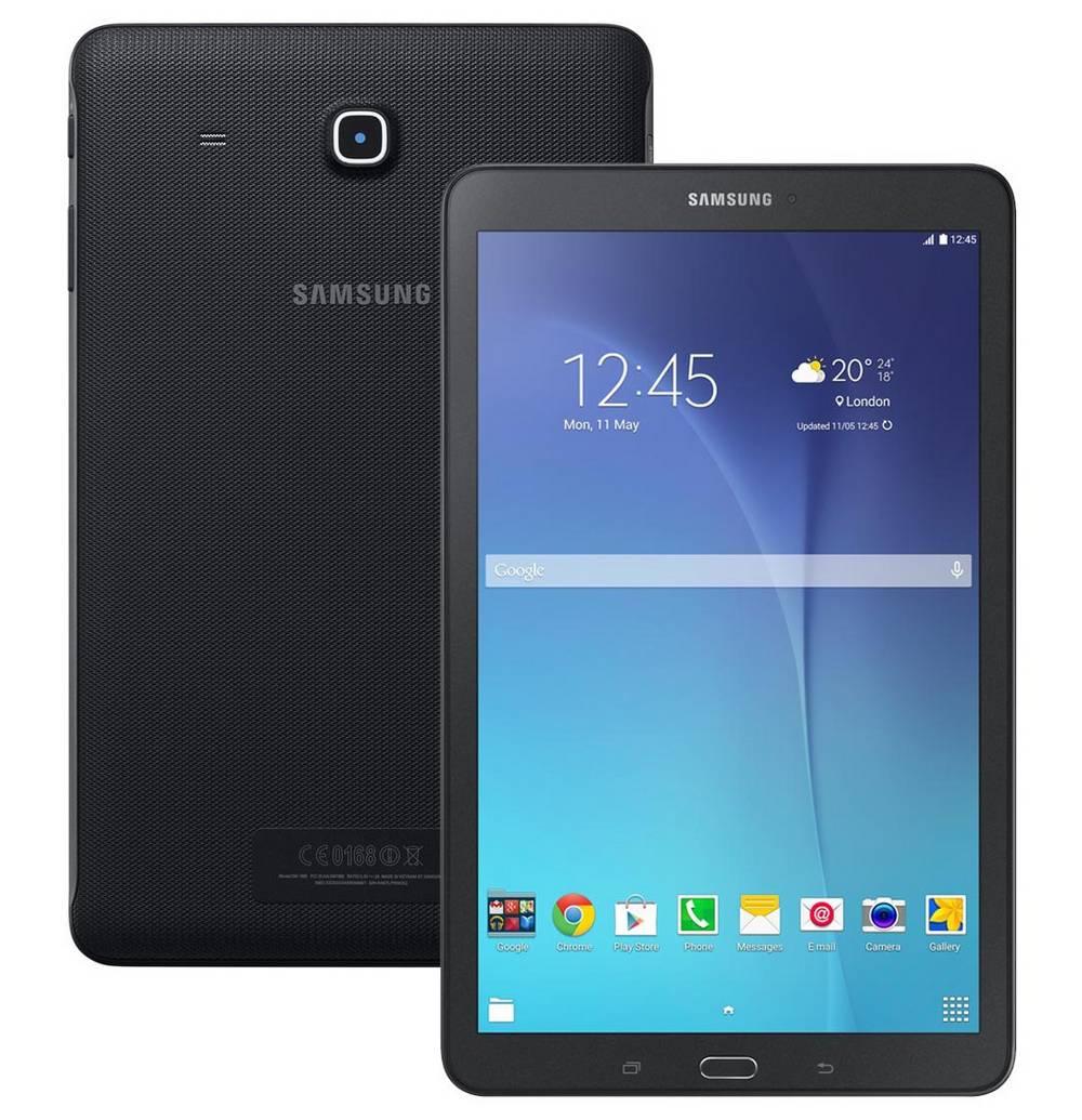 """Samsung Galaxy Tab E 9.6"""" SM-T561 3G 8GB Μαύρο EU"""