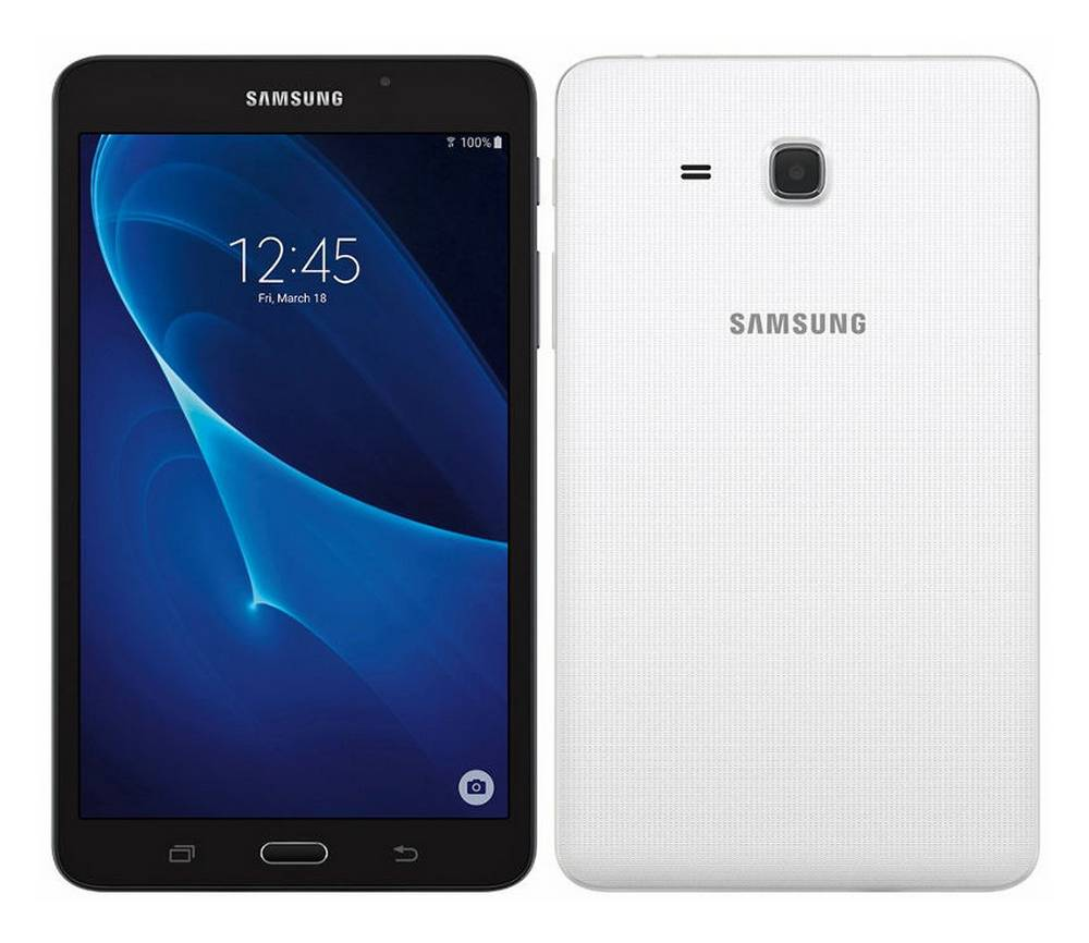 "Samsung SM-T280 Galaxy Tab A (2016) 7"" Wi-Fi 1.5GB/8GB Λευκό EU"