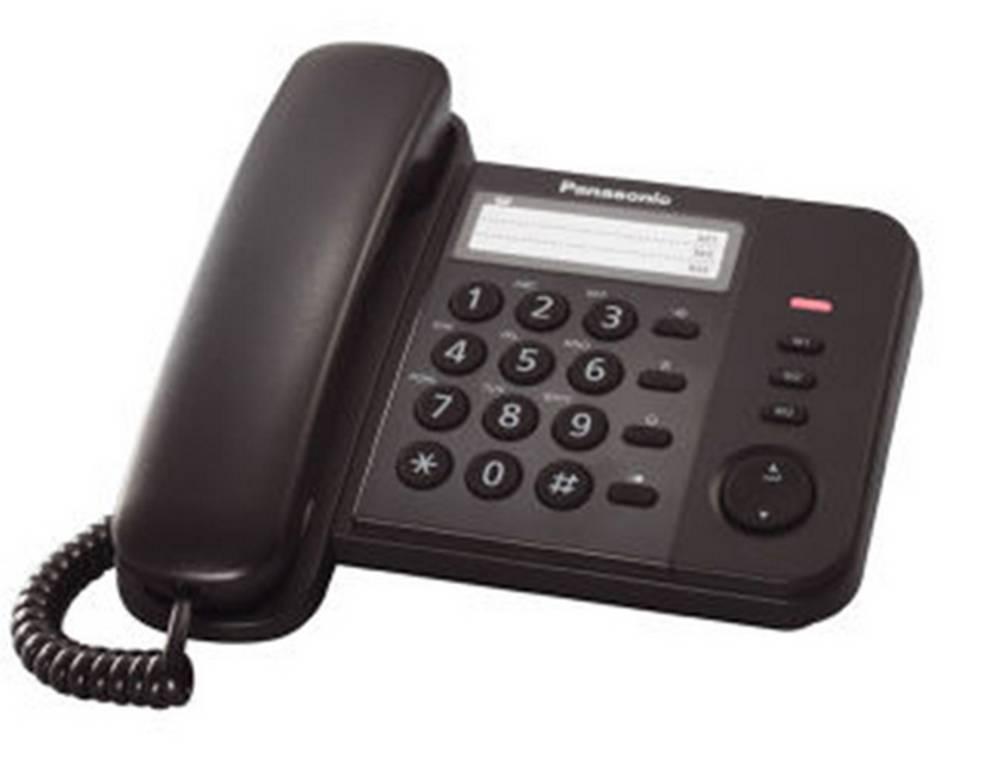 Σταθερό Ψηφιακό Τηλέφωνο Panasonic KX-TS520EX2B Μαύρο