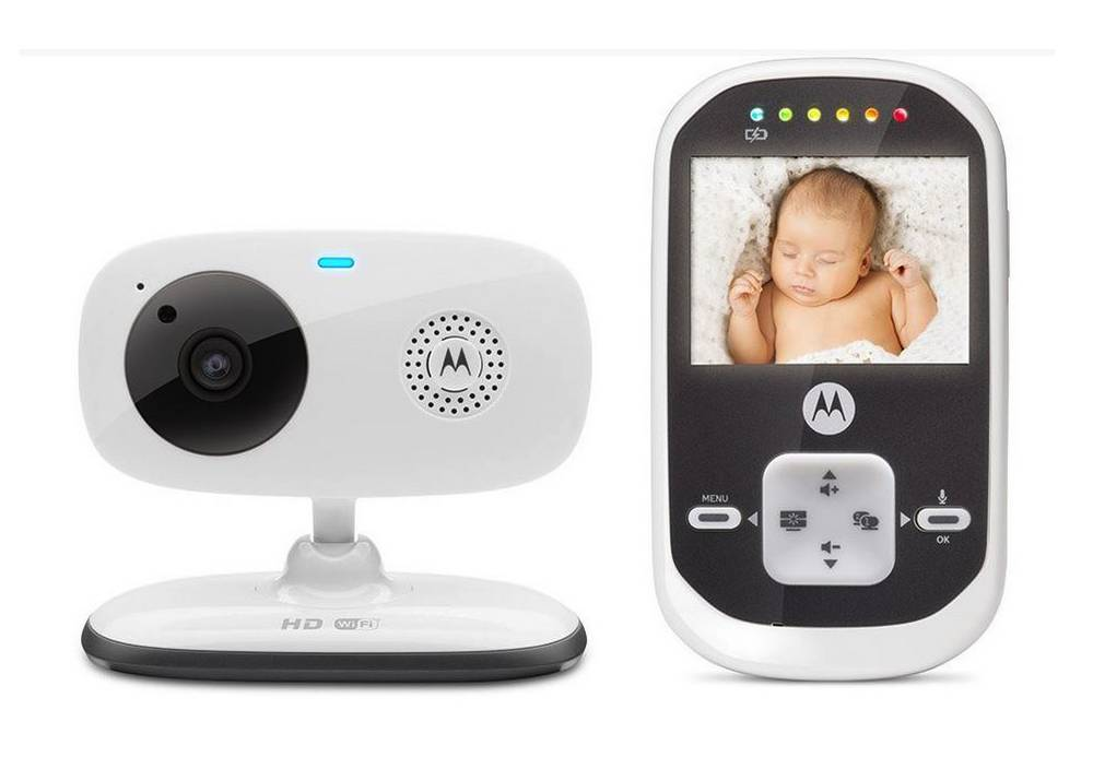 baby monitor motorola mbp662 connect wifi hd 720p 2 4 android ios. Black Bedroom Furniture Sets. Home Design Ideas