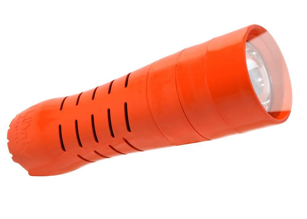 Φακός H2Only FL-102 Έκτακτης Ανάγκης, 0.5 Watt Cree Led 60 Lumens Πορτοκαλί (Λειτουργεί χωρίς Μπαταρίες)