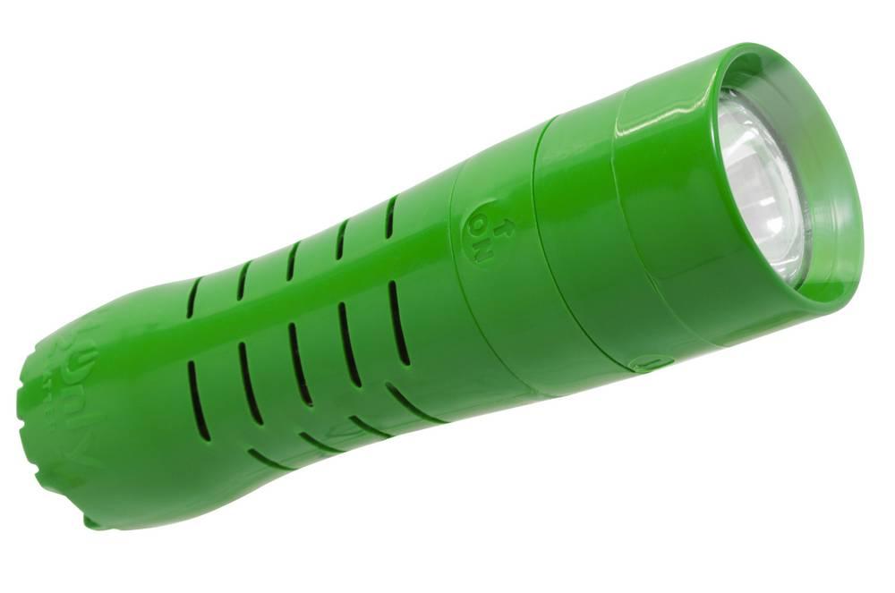 Φακός H2Only FL-101, 1 Watt Cree Led 110 Lumens Πράσινος (Λειτουργεί χωρίς Μπαταρίες)