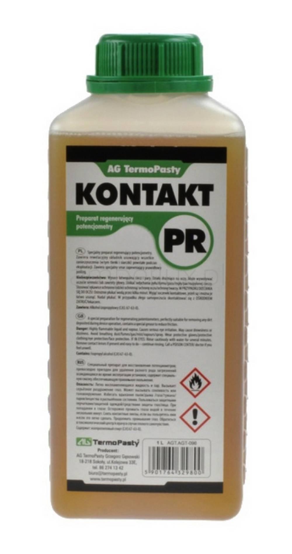 Καθαριστικό Ποτενσιόμετρων TermoPasty Kontakt PR 1Λ Κατάλληλο για Καθαρισμό και Συντήρηση των Ποτενσιόμετρων