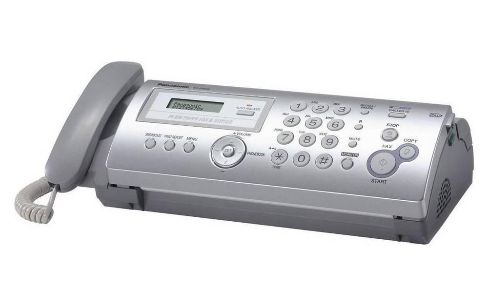 Fax Panasonic KX-FP205GR-S με Ελληνικό Μενού