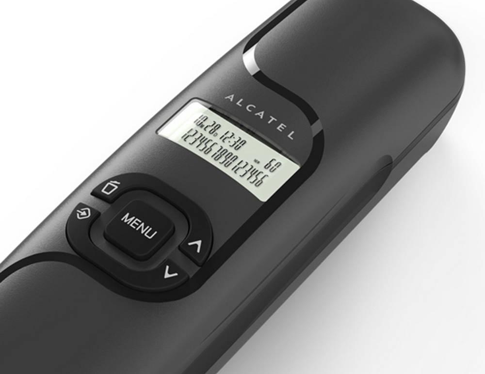 Σταθερό Ψηφιακό Τηλέφωνο Alcatel Temporis 16 Μαύρο