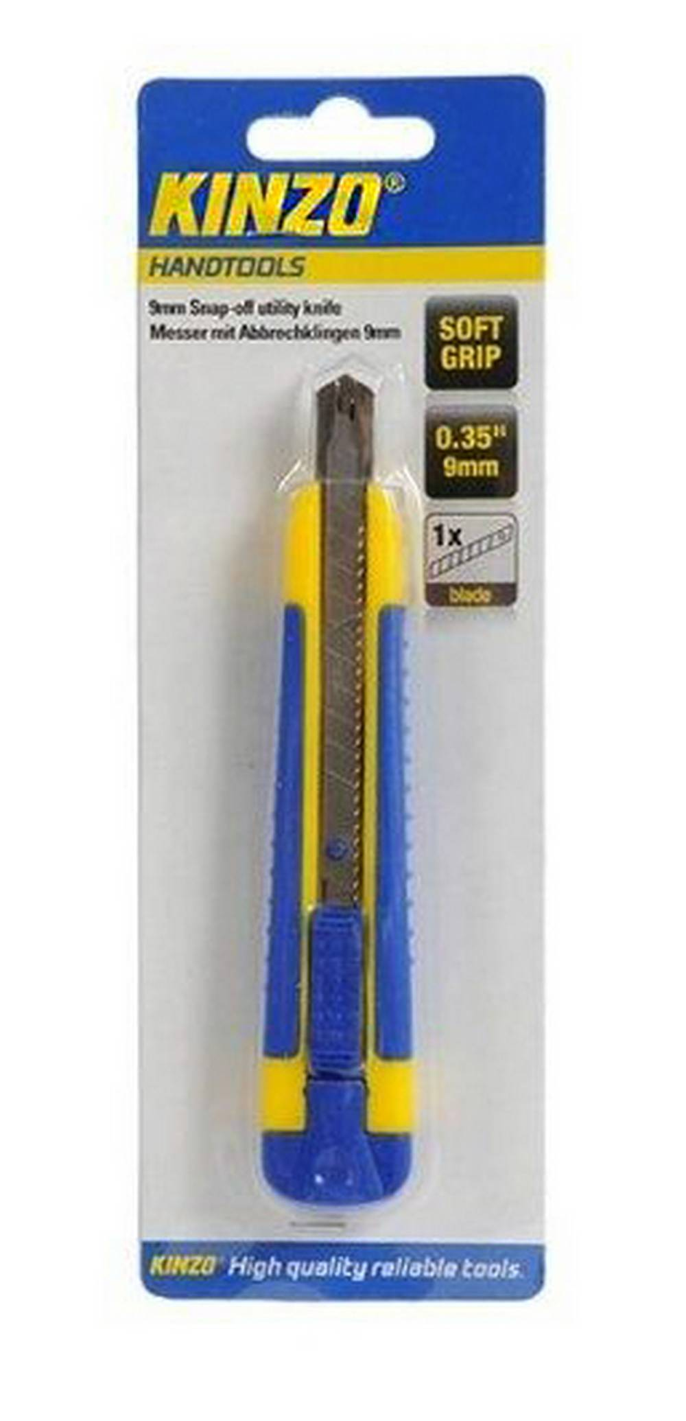 """Κοπίδι Μικρό Kinzo 71841 0.35"""" 9mm με Μαλακή Λαβή"""