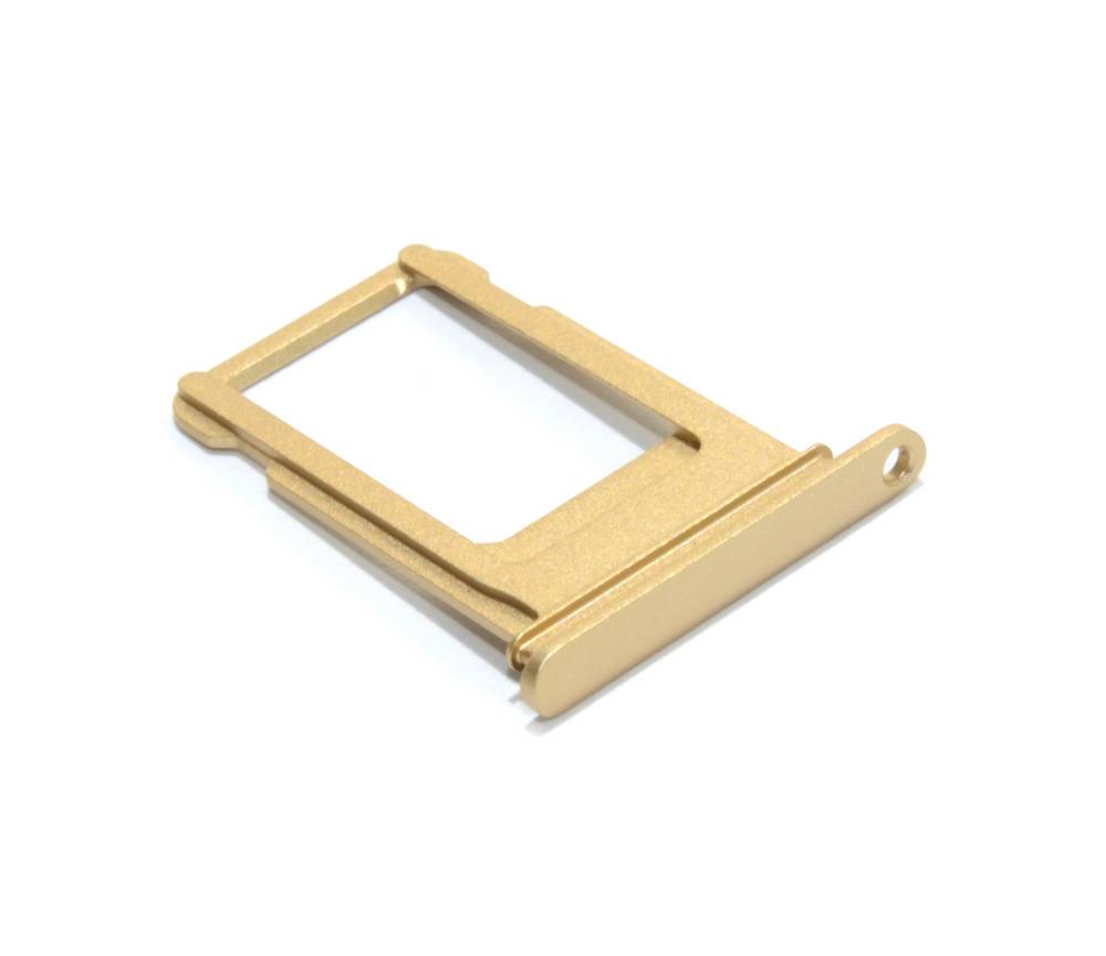 Βάση Κάρτας Sim Apple iPhone 7 Plus Χρυσαφί OEM Type A