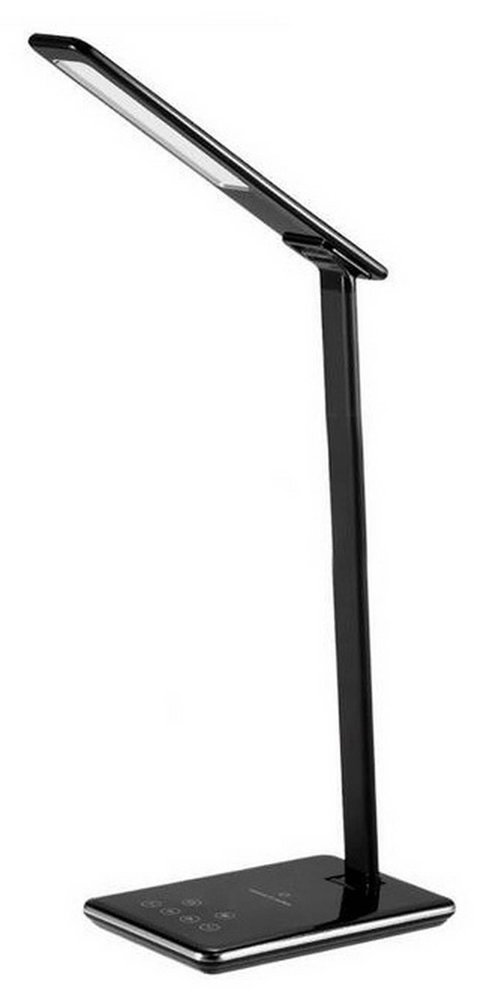 Φωτιστικό Γραφείου LED Jabees Q9 με Wireless Charger, Αυξομείωση Φωτισμού και Αλλαγή Χρώματος Φωτισμού Μαύρο