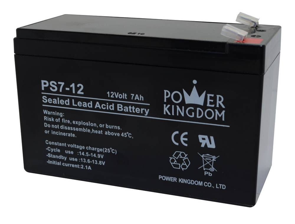 Μπαταρία για UPS Power Kingdom PS7-12 (12V 7.0 Ah)  2 kg 151mm x 65mm x 95mm