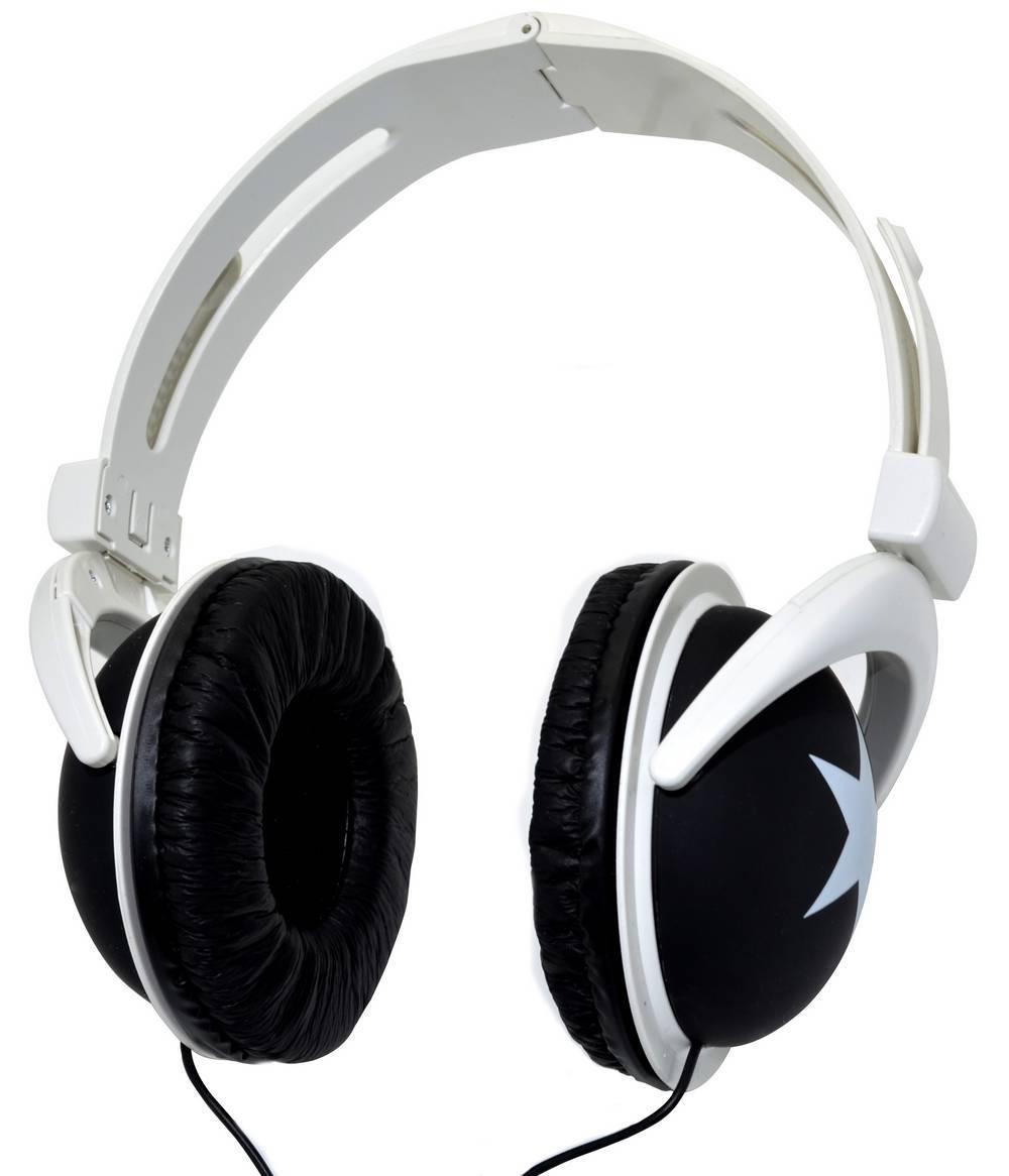 Ακουστικά Stereo Star Foldable 3.5 mm Μαύρο για mp3, mp4 και Συσκευές Ήχου Polybag