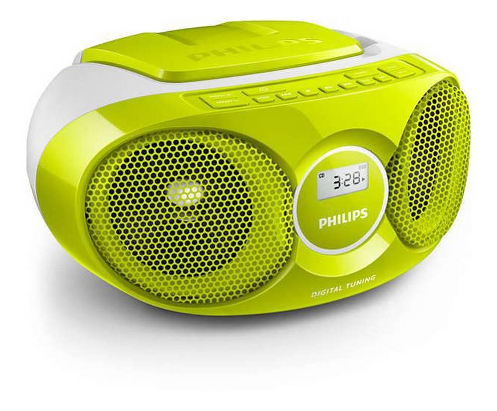 Φορητό Ράδιο CD Philips AZ215G/12 Πράσινο-Λευκό