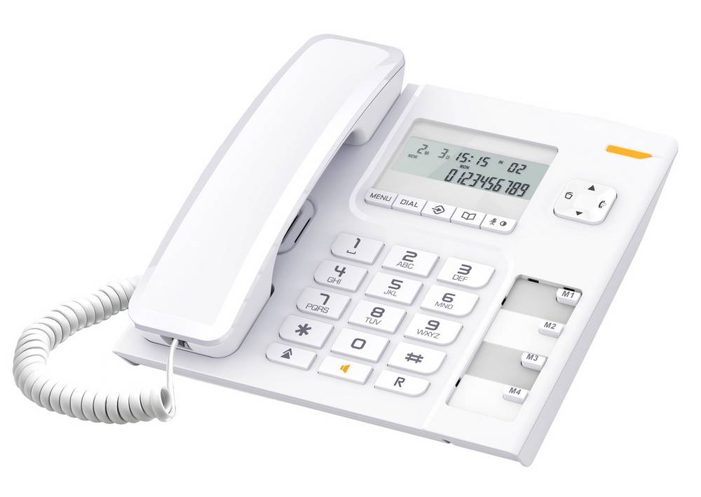 Σταθερό Ψηφιακό Τηλέφωνο Alcatel Temporis 56 Λευκό