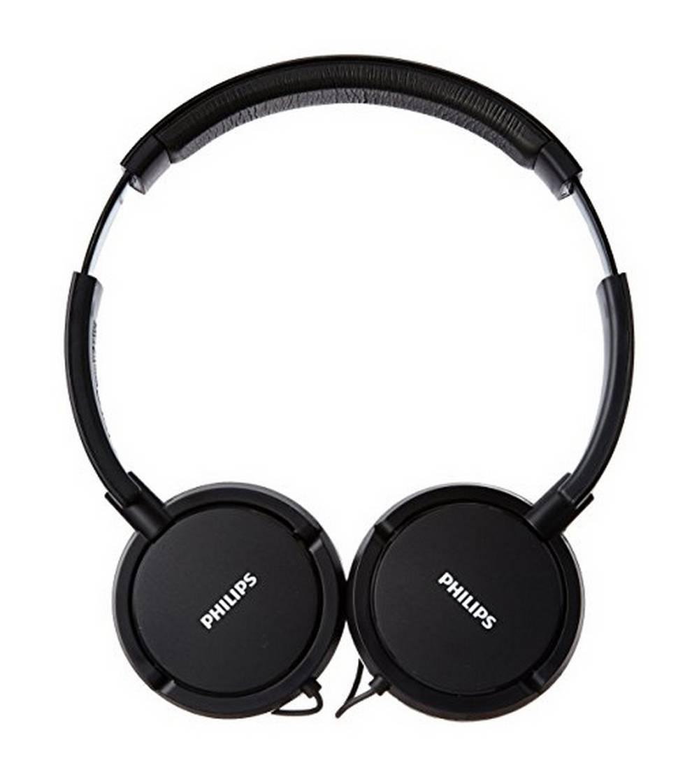 Ακουστικά Stereo Philips On-Ear SHL5000/00 3.5 mm Μαύρο για mp3, mp4 και Συσκευές Ήχου