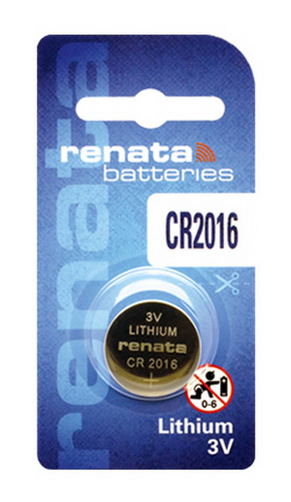 Buttoncell Lithium Electronics Renata CR2016 Τεμ. 1
