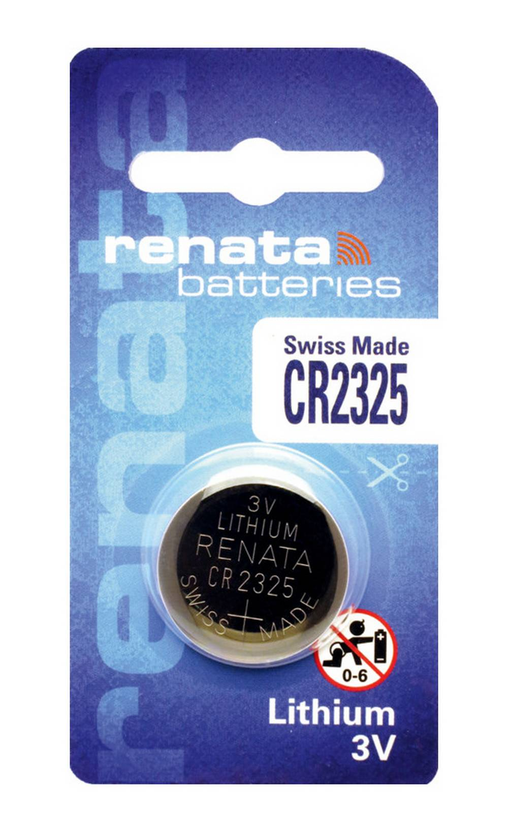 Buttoncell Lithium Electronics Renata CR2325 Τεμ. 1