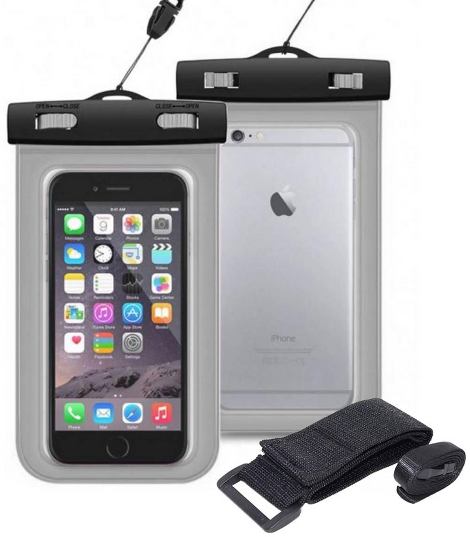 Θήκη Αδιάβροχη Ancus για iPhone 6 Plus/Note 4/Note 5 και Ηλεκτρονικών Συσκευών Διάφανη
