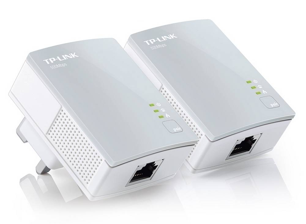 Powerline TP-Link AV600 TL-PA4010KIT 600 Mbps Σέτ 2 Τεμαχίων v2.0