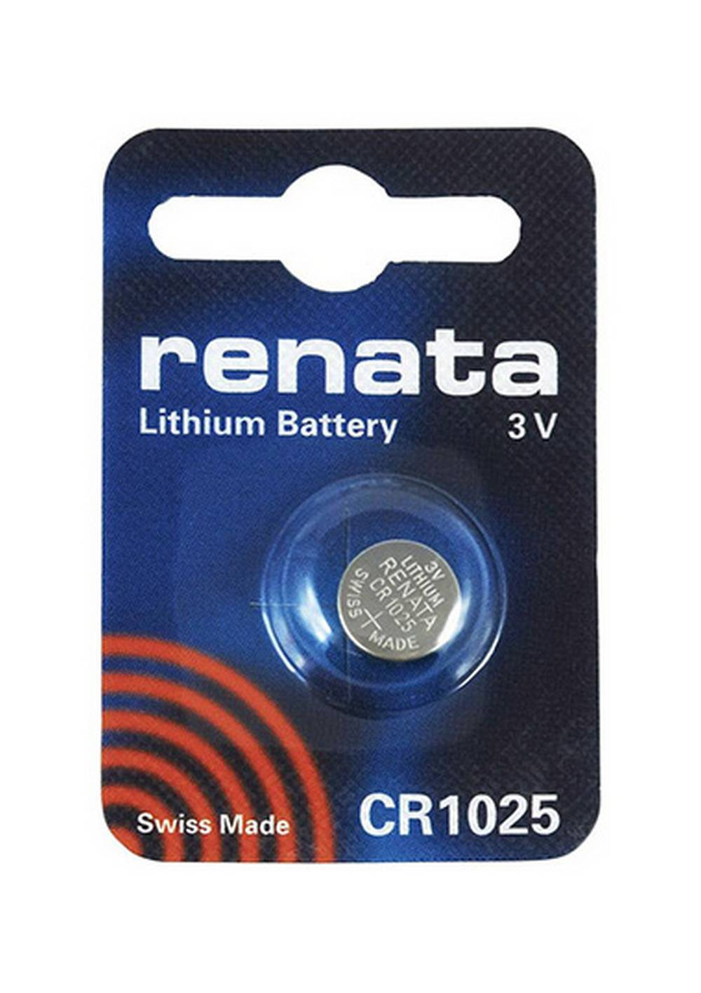 Buttoncell Lithium Electronics Renata CR1025 Τεμ. 1