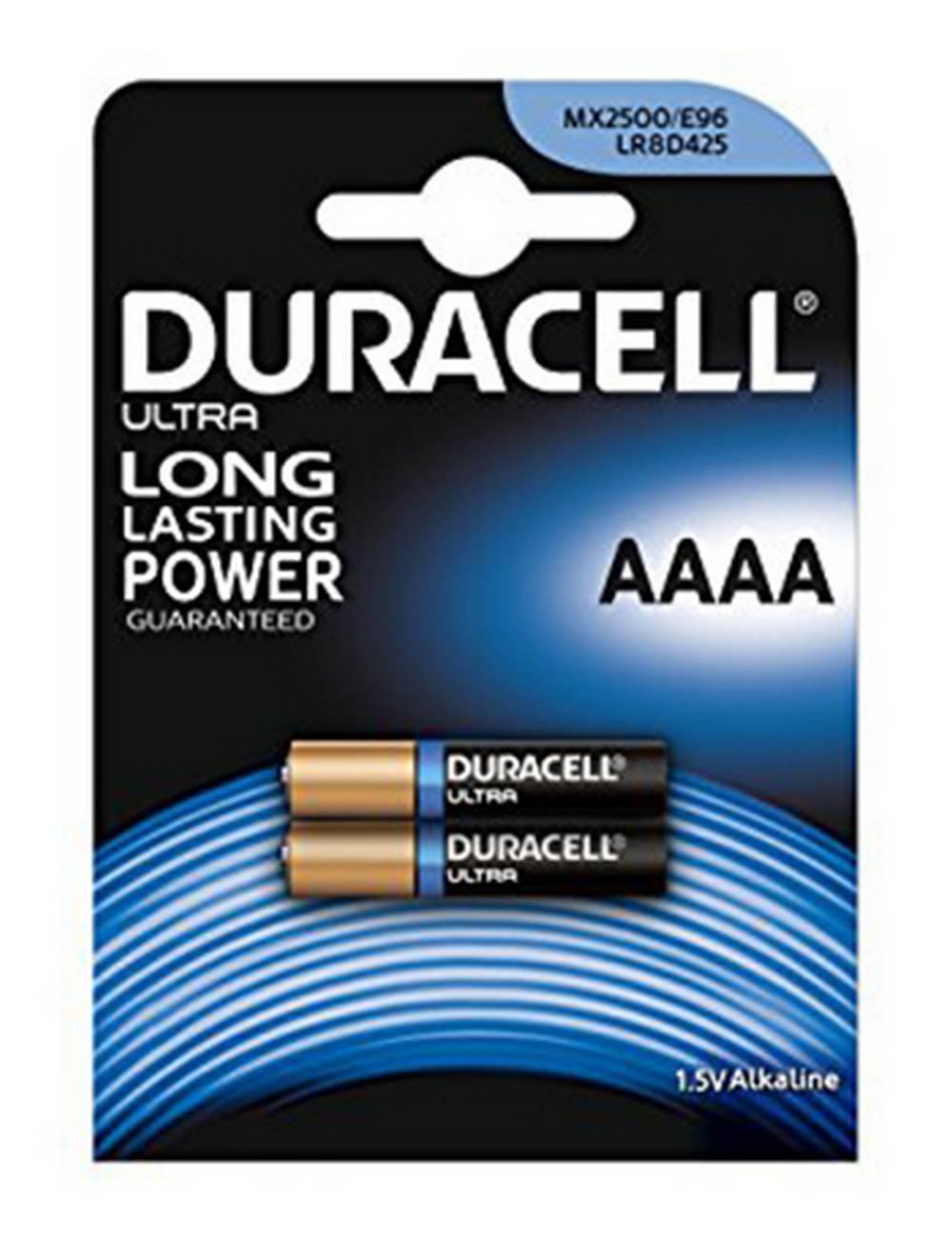 Μπαταρία Αλκαλική Duracell Long Lasting LR8D425 / MX2500 size AAAA Τεμ. 2