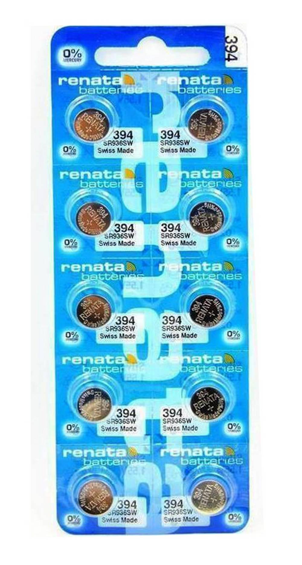 Buttoncell Renata 394 SR936SW Τεμ. 10