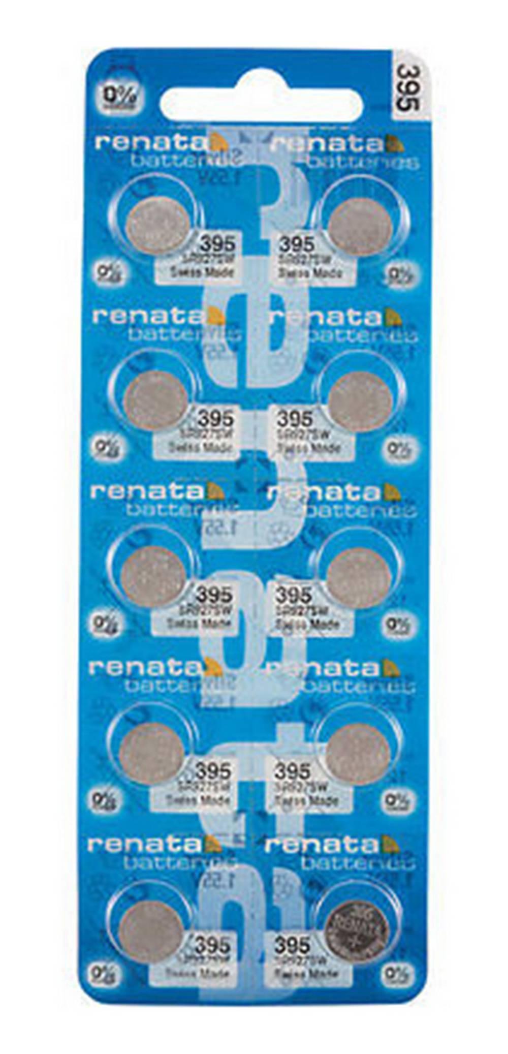 Buttoncell Renata 395 SR927SW Τεμ. 10