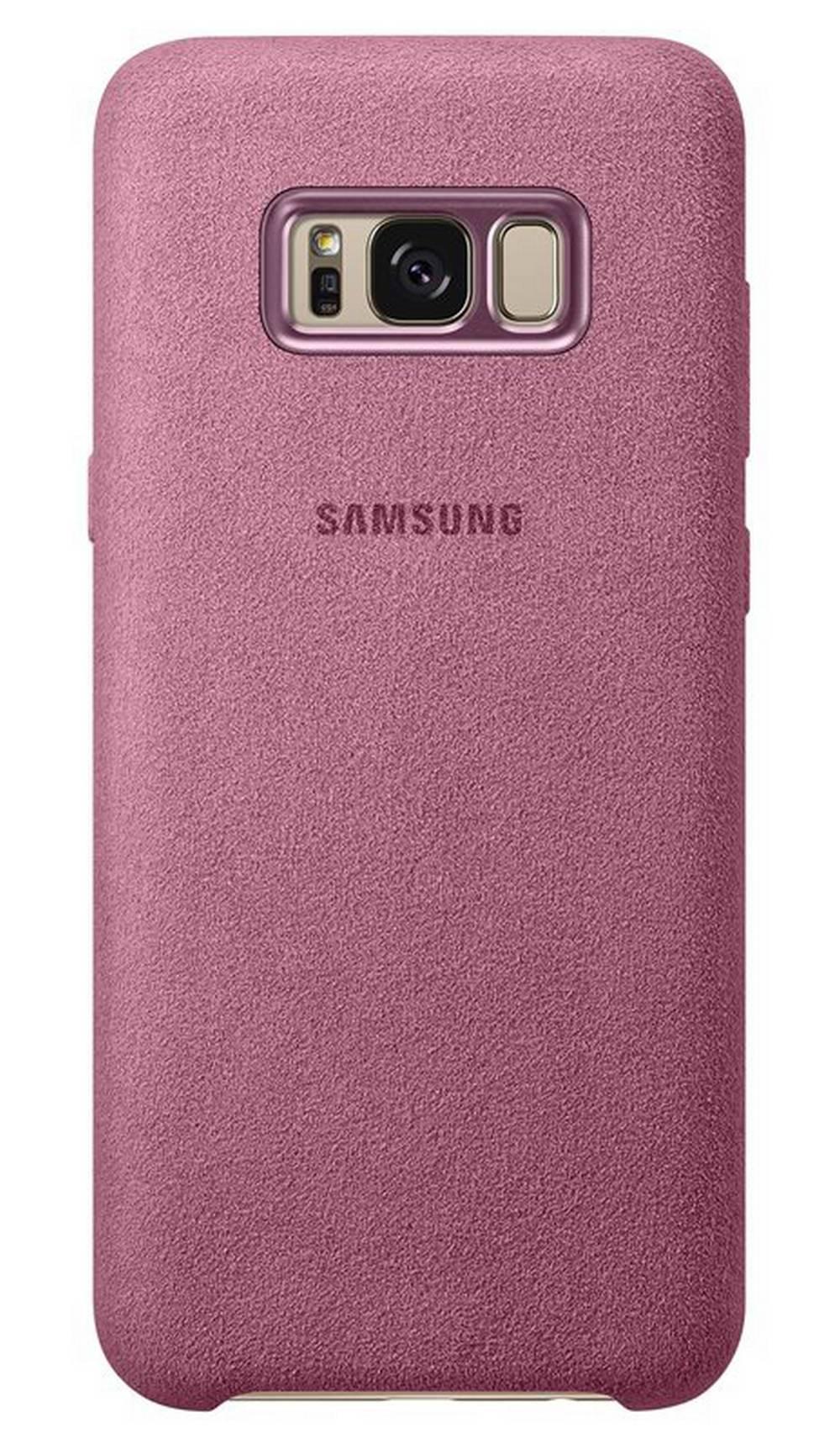 Θήκη Faceplate Samsung Alcantara Cover EF-XG955APEGWW για ...