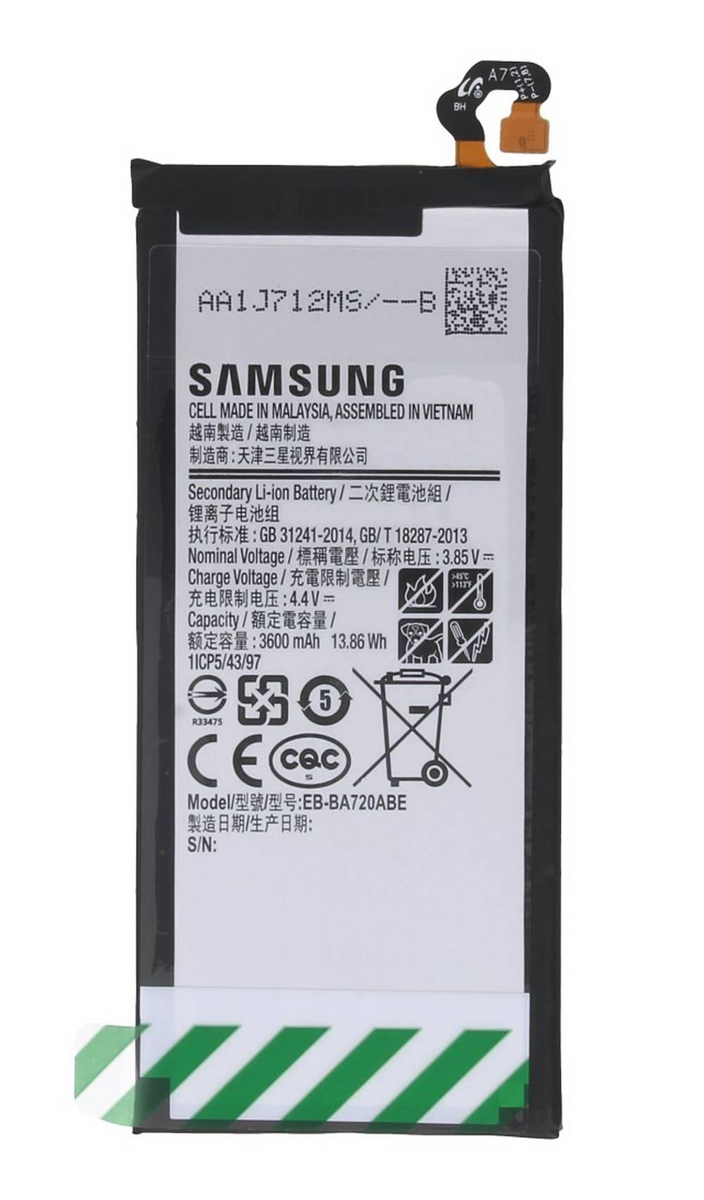 Μπαταρία Samsung EB-BA720ABE για SM-J730F Galaxy J7 (2017) Original Bulk