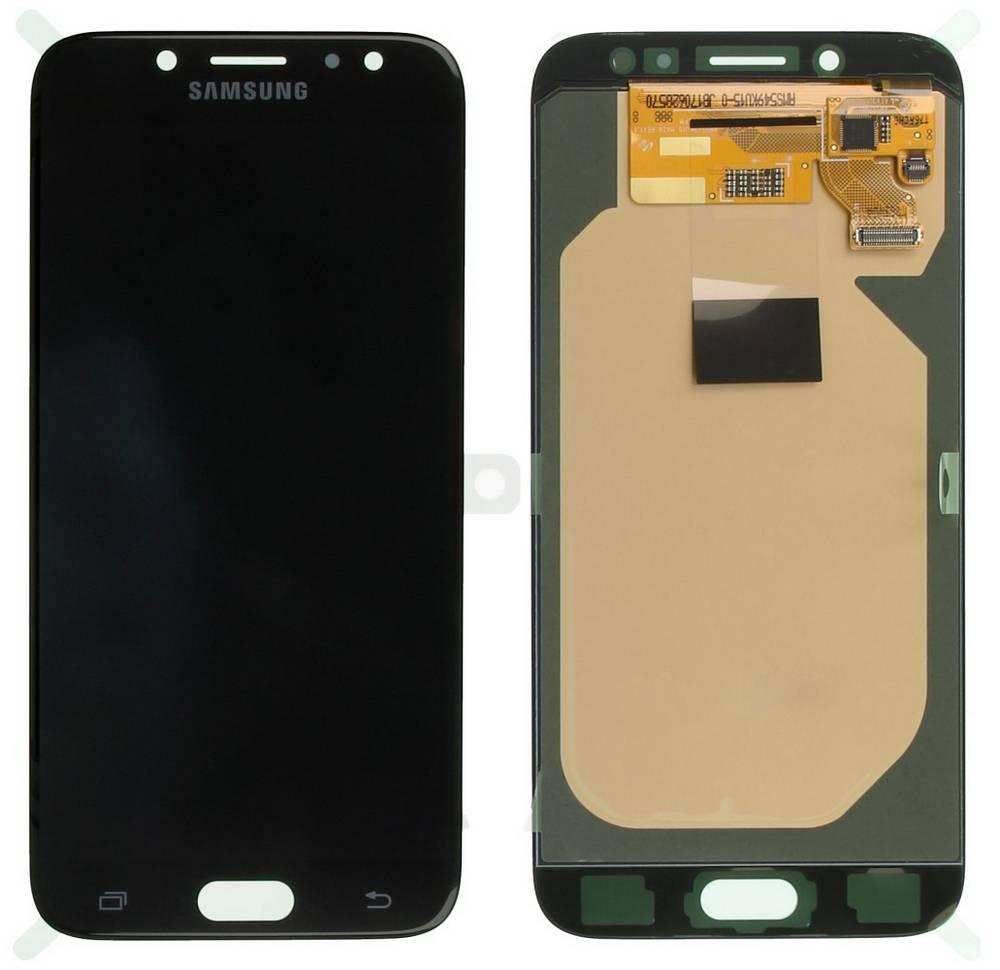 Γνήσια Οθόνη & Μηχανισμός Αφής Samsung SM-J730F Galaxy J7 (2017) Μαύρο GH97-20736A, GH97-20801A