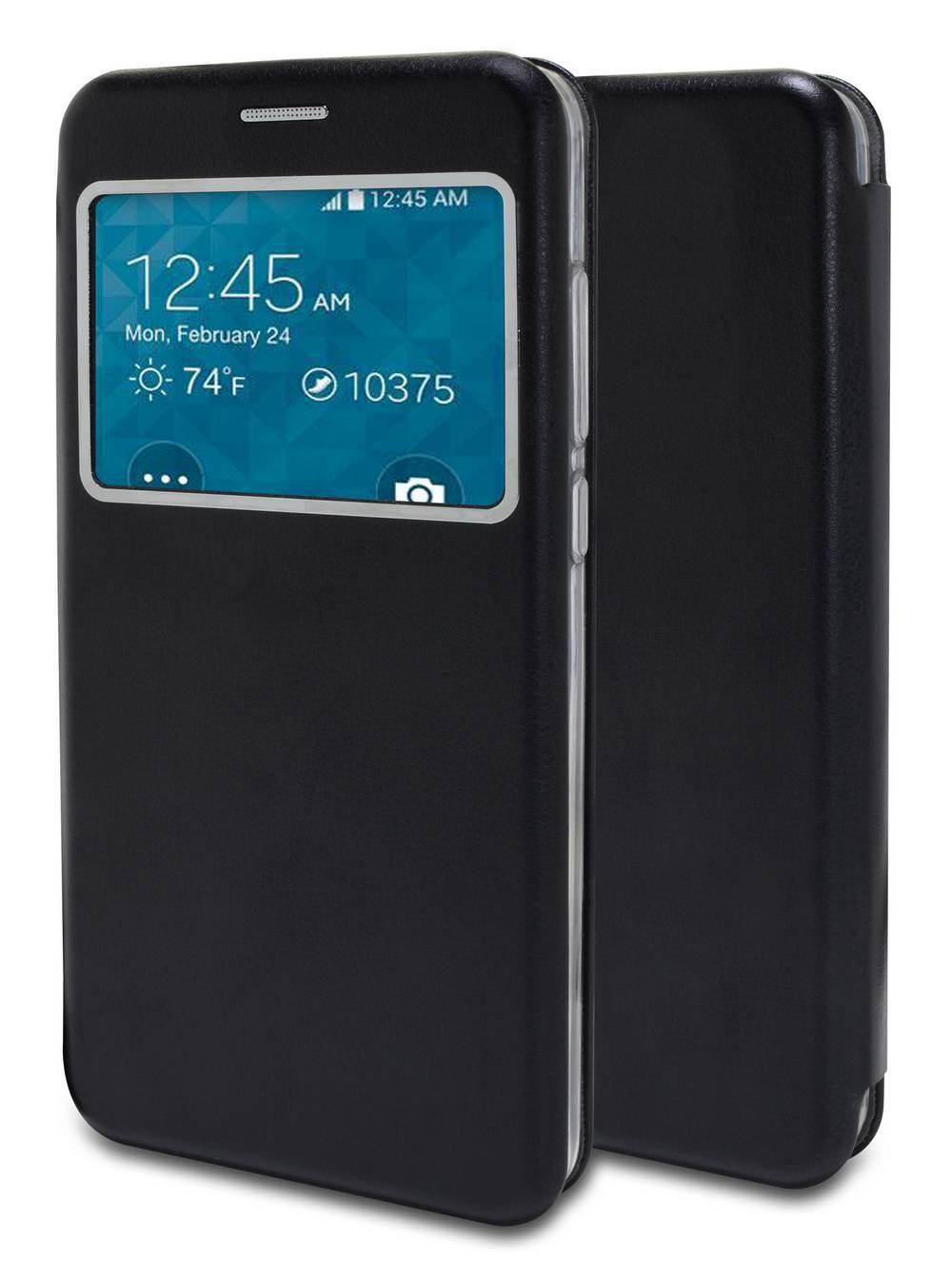 Θήκη Book Ancus S-View Magnetic Curve για Samsung SM-N950F Galaxy Note 8 TPU Μαύρη