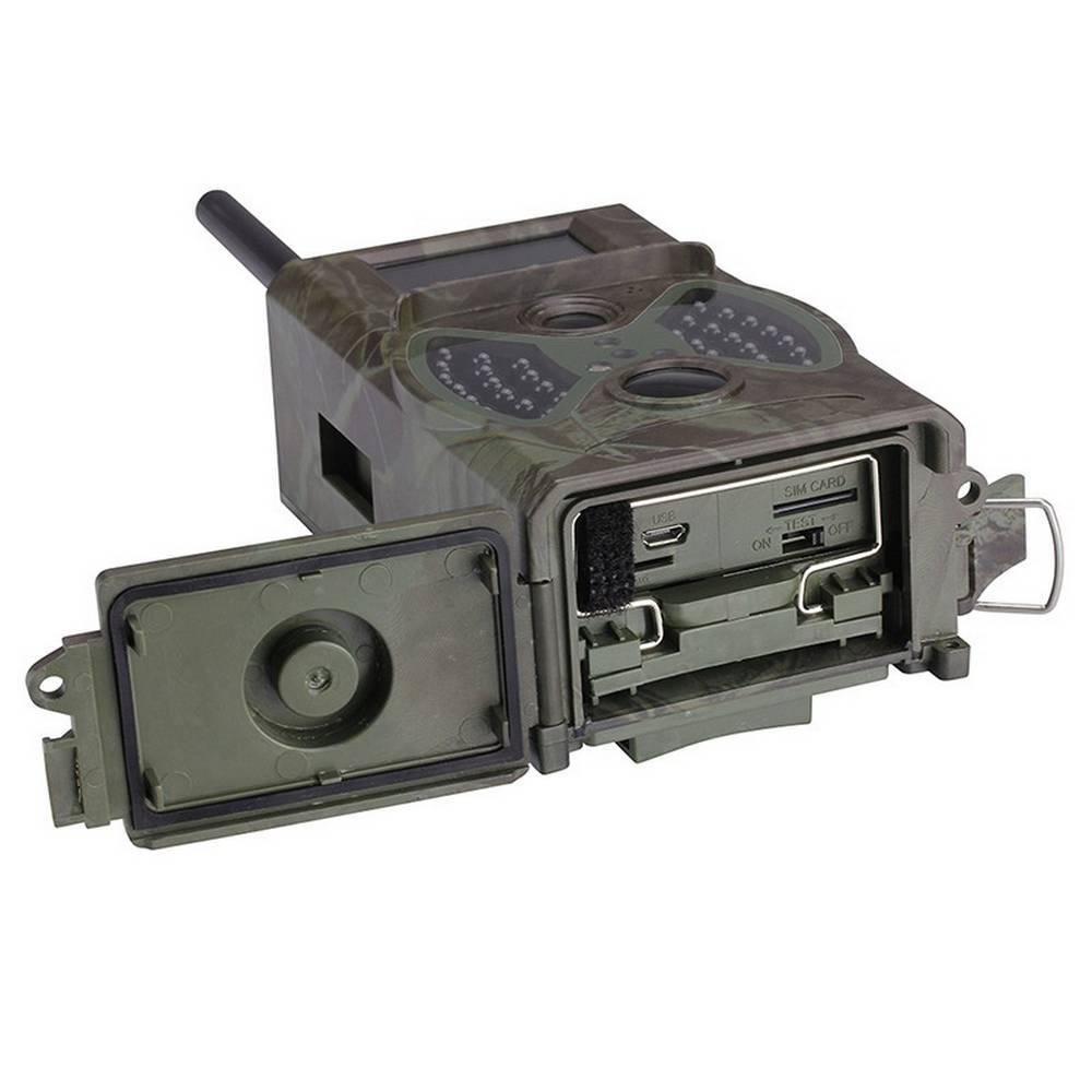 Καταγραφική Κάμερα Εξωτερικού Χώρου HC-350M 1080p FullHD, Ανιχνευτή Κινήσεων, Νυχτερινή Λειτουργία, Καταγραφή Φωτό & Βίντεο