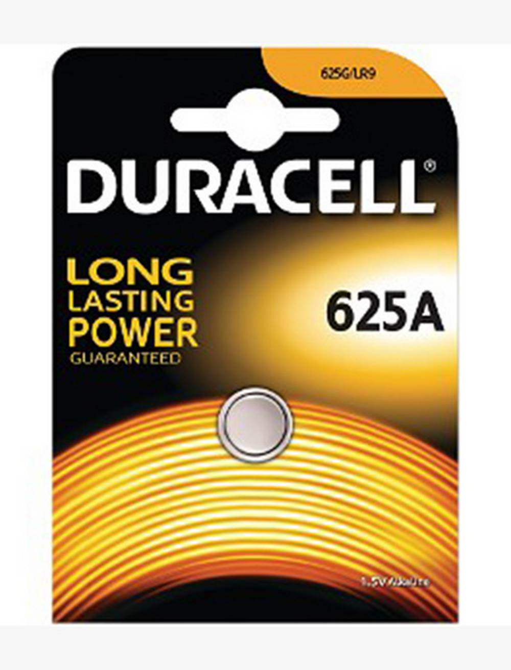 Buttoncell Αλκαλική Duracell Long Lasting LR9 / 625A 1.5V Τεμ. 1