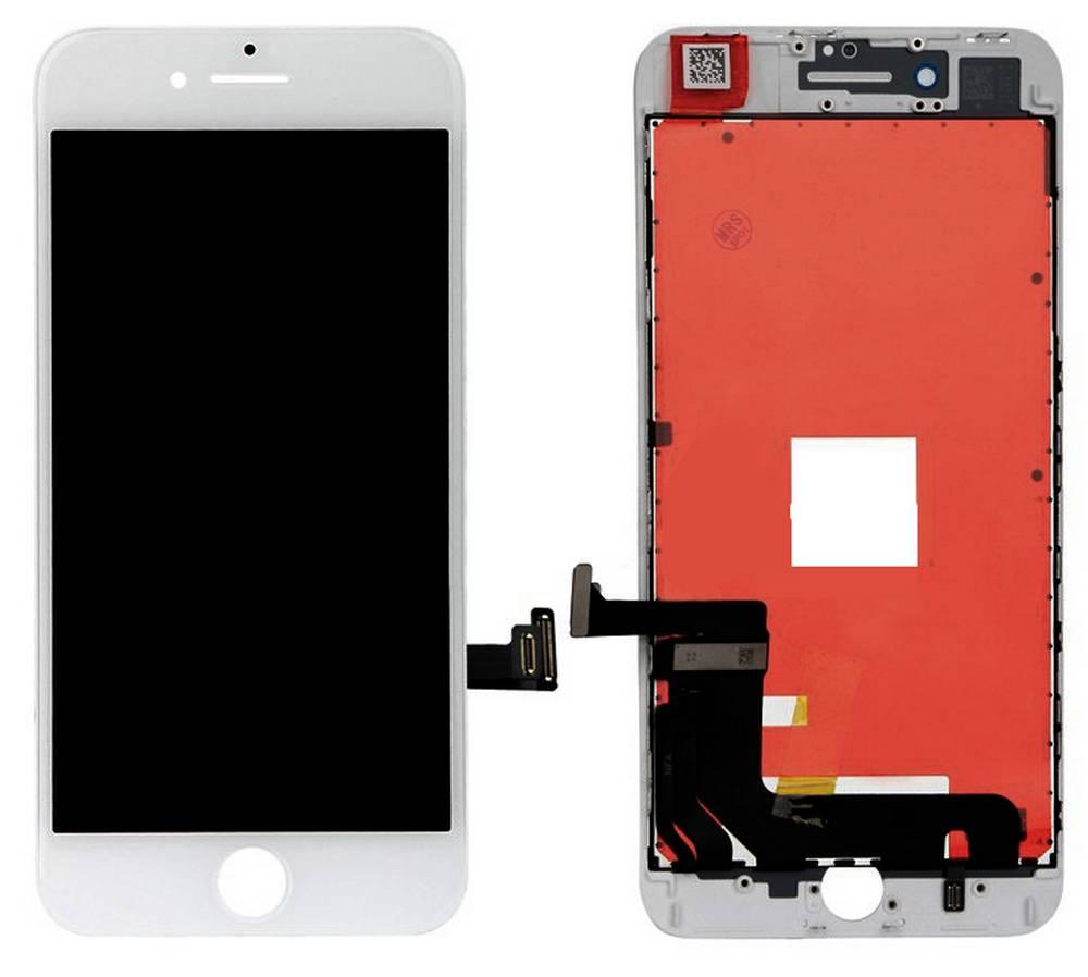 Οθόνη & Μηχανισμός Αφής Apple iPhone 8 Plus Λευκό Type A