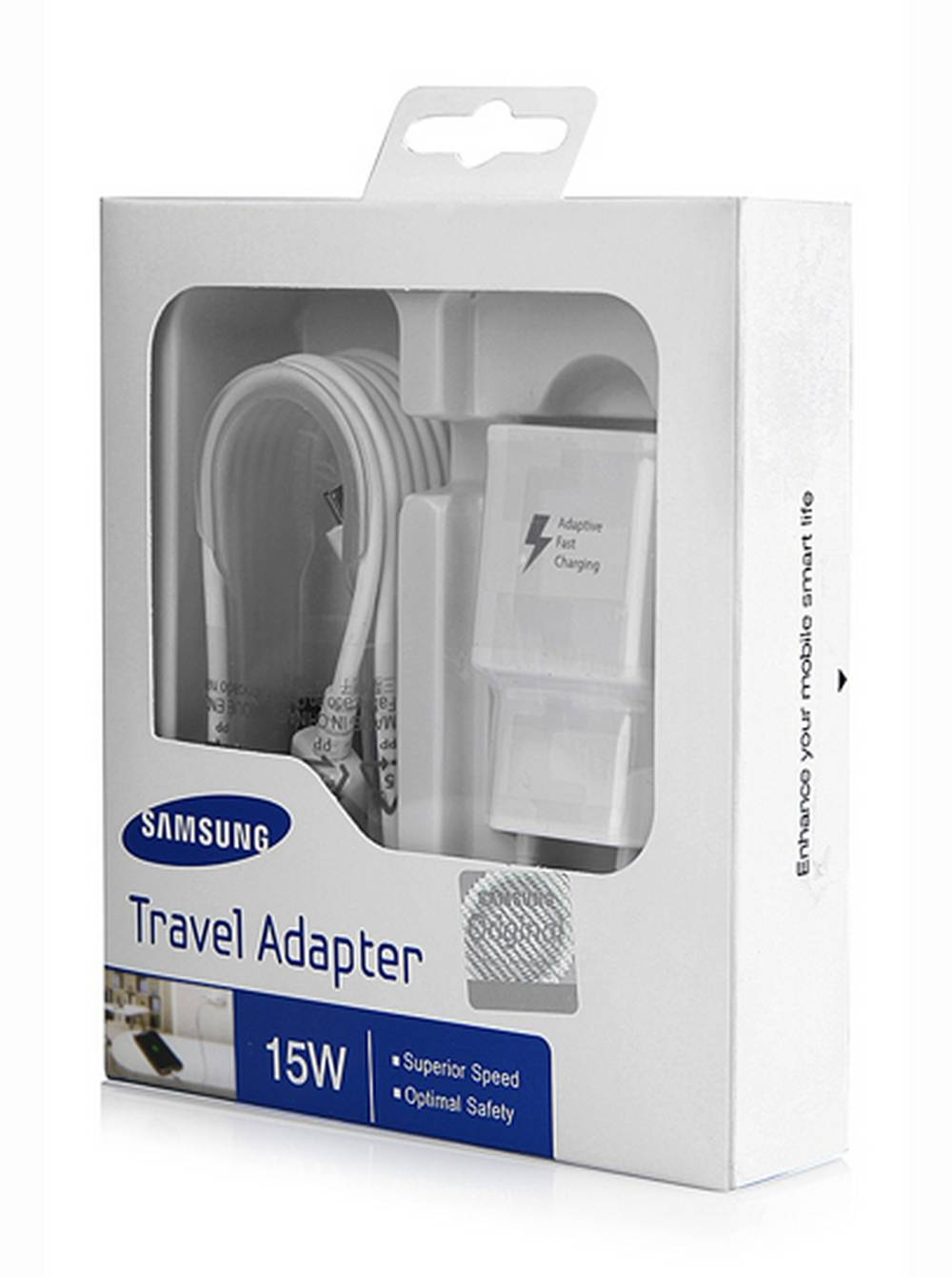 Φορτιστής Ταξιδίου Samsung EP-TA20EWE με Αποσπώμενο ...