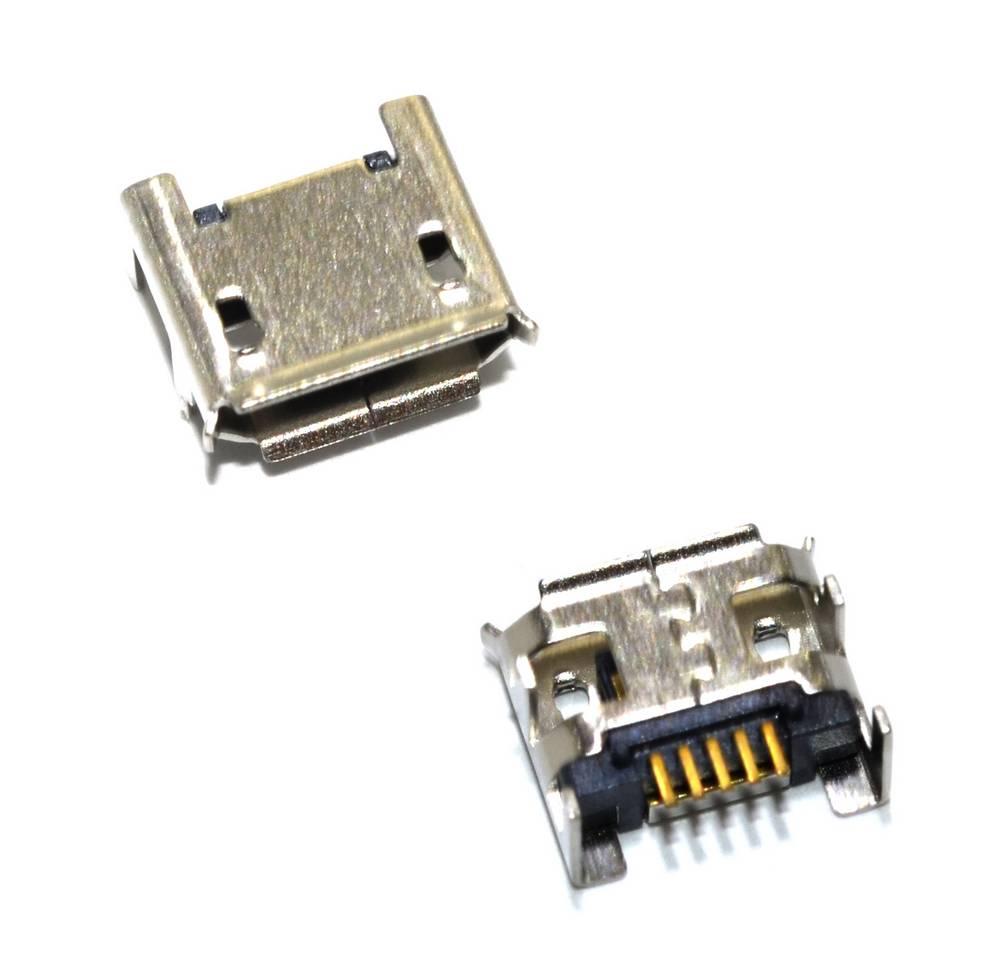 Επαφή Φόρτισης Universal Micro Usb 4 Feet Flat Dip 5P n.21