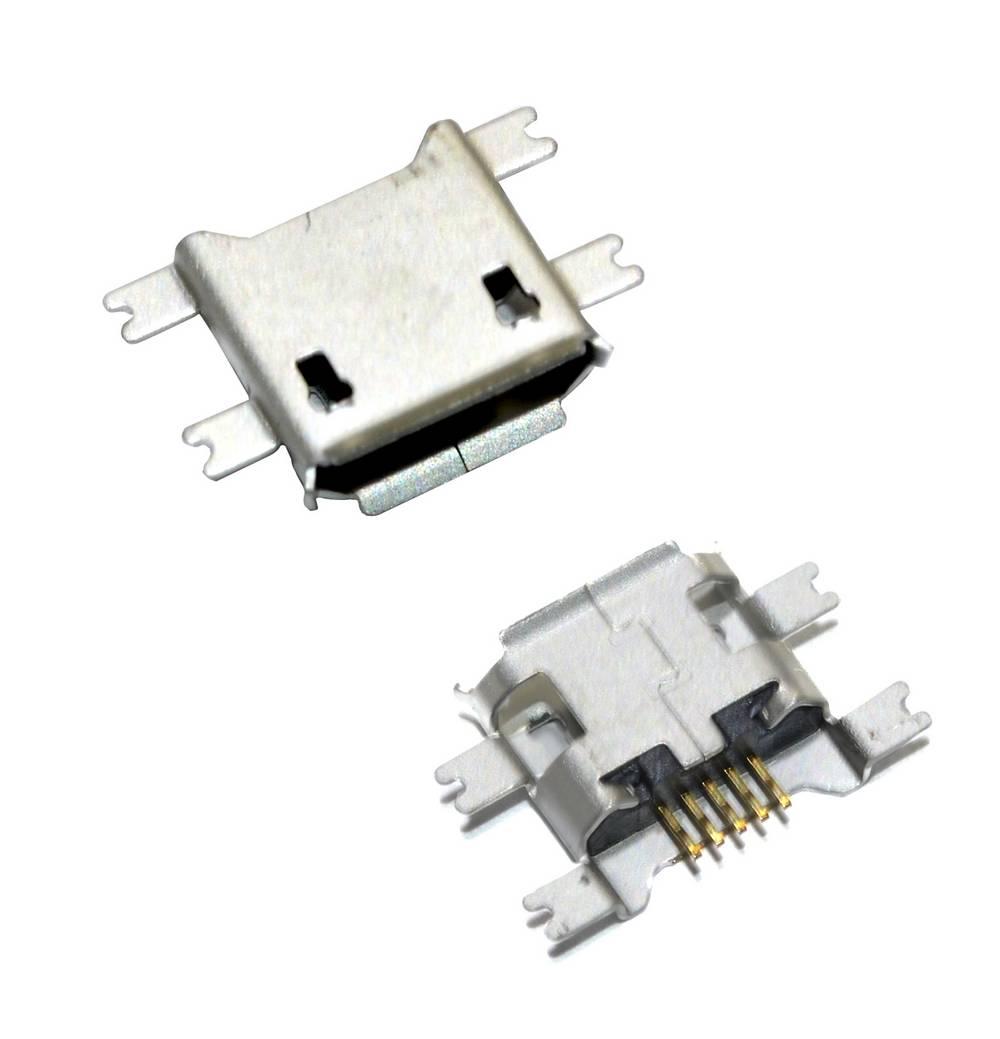 Επαφή Φόρτισης Universal Micro Usb Sink 1.6 4 Feet SMT 5P n.24