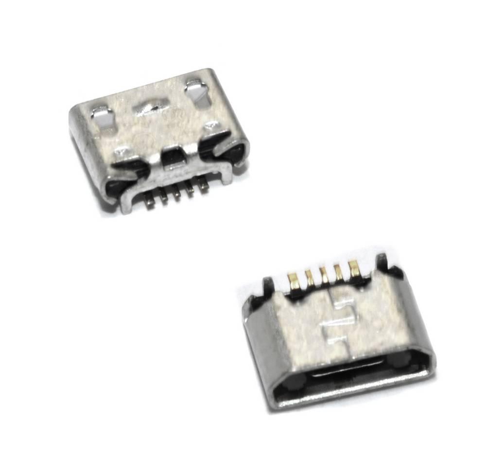 Επαφή Φόρτισης Universal Micro Usb Back 2 Feet Dip 5P n.15