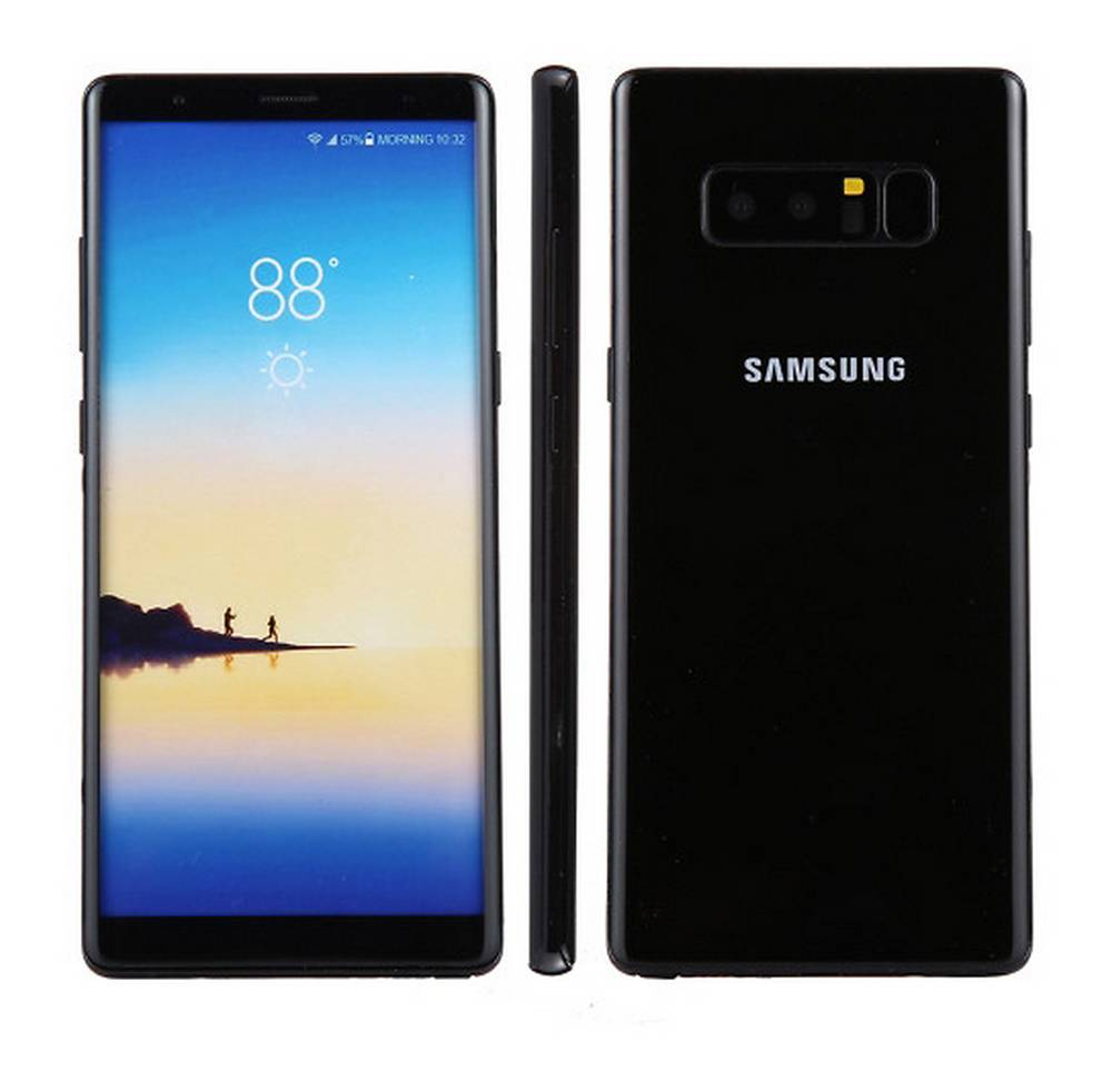 Dummy Phone Samsung SM-N950F Galaxy Note 8 Μαύρο OEM Type A