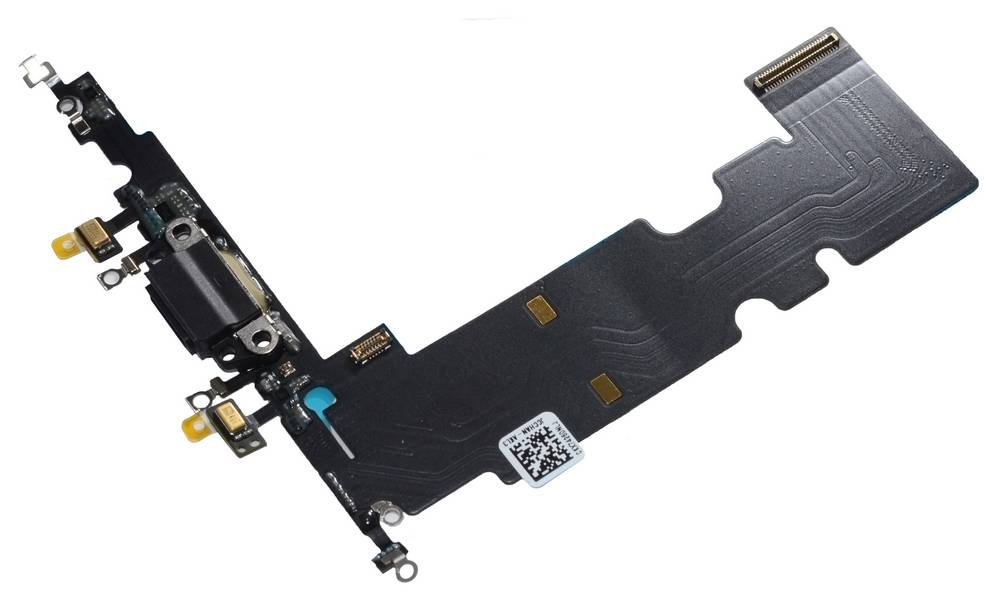 Επαφή Φόρτισης Apple iPhone 8 Plus με Μικρόφωνο Μαύρο OEM Type A