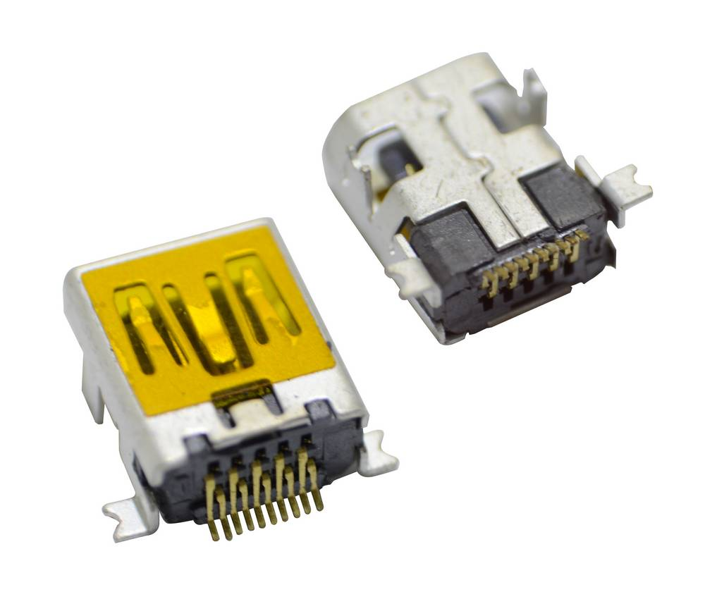 Επαφή Φόρτισης Universal Mini Usb 10-pin για Tablet, Κινητά (1.0cm x 0.7cm)