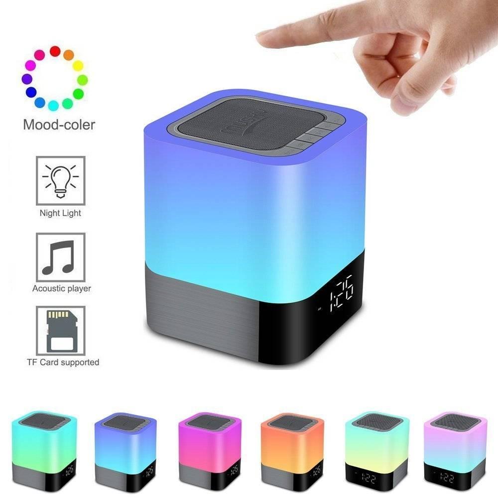 Φορητό Ηχείο Bluetooth Musky DY28 Plus 5W με Διάφ. Χρωματ, Οθόνη, Ξυπνητήρι, Αισθ. Αφής, Ανοιχτή Ακρόαση και USB