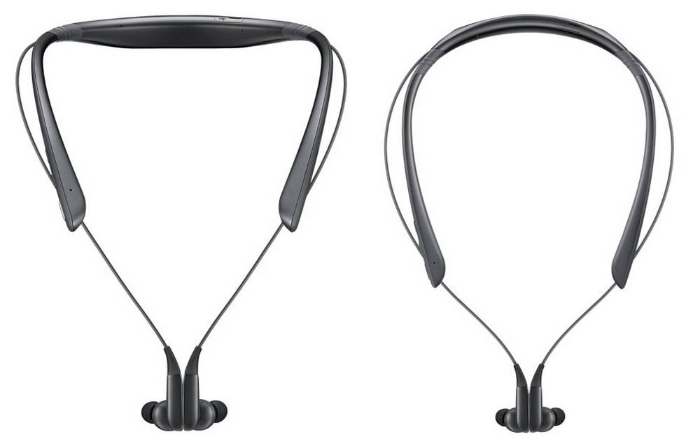 Bluetooth Hands Free Samsung EO-BN920CBEGWW Level U Pro Μαύρο