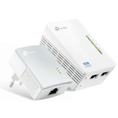 Powerline TP-Link AV500 WiFi Kit TL-WPA4220 KIT V:1.4 300 Mbps WiFi & 500 Mbps Powerline Σέτ 2 Τεμαχίων