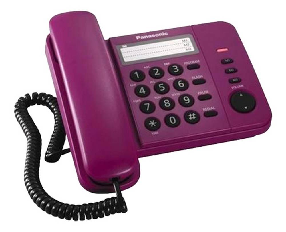 Σταθερό Ψηφιακό Τηλέφωνο Panasonic KX-TS520EX2R Κόκκινο