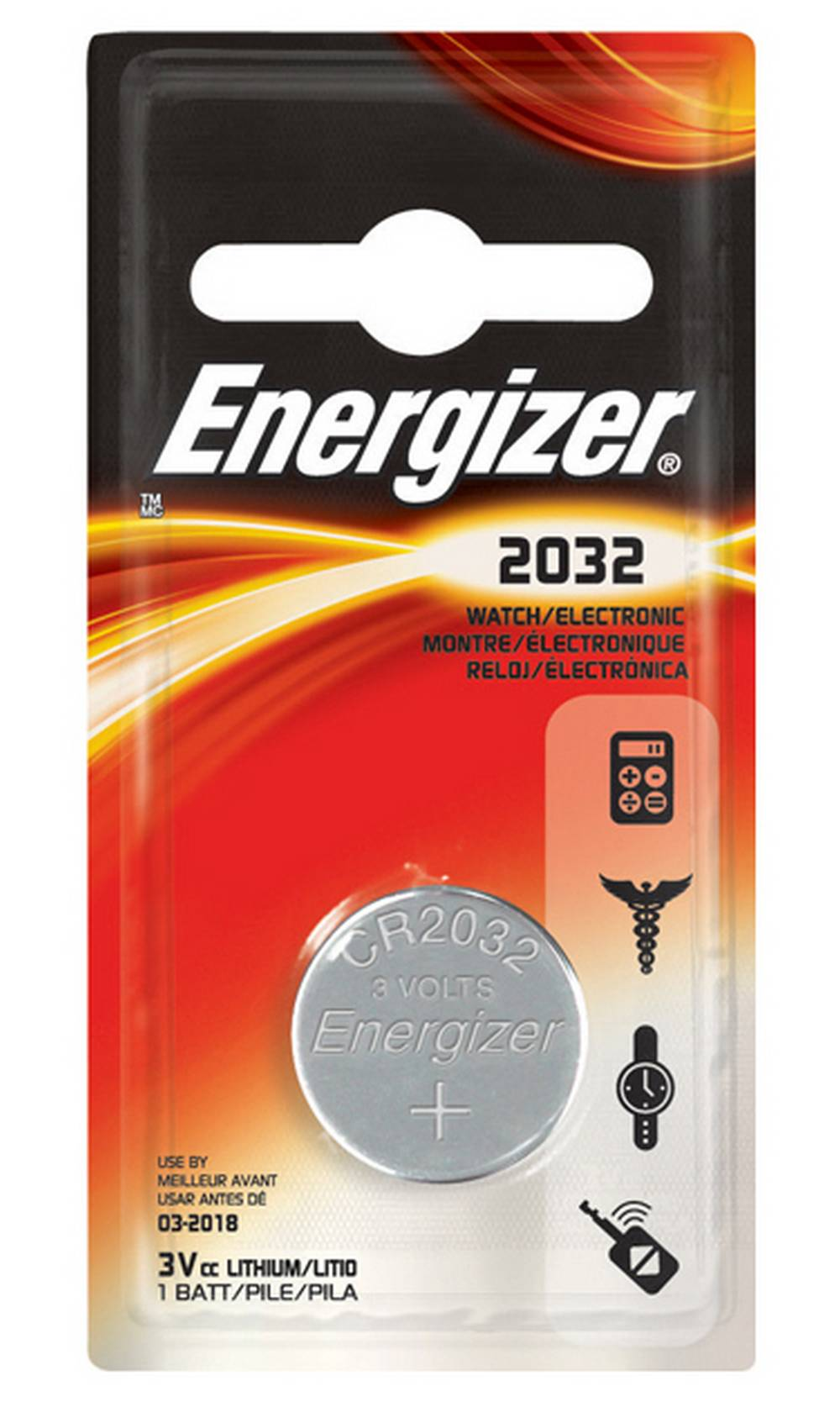 Buttoncell Lithium Electronics Energizer CR2032 Τεμ. 1