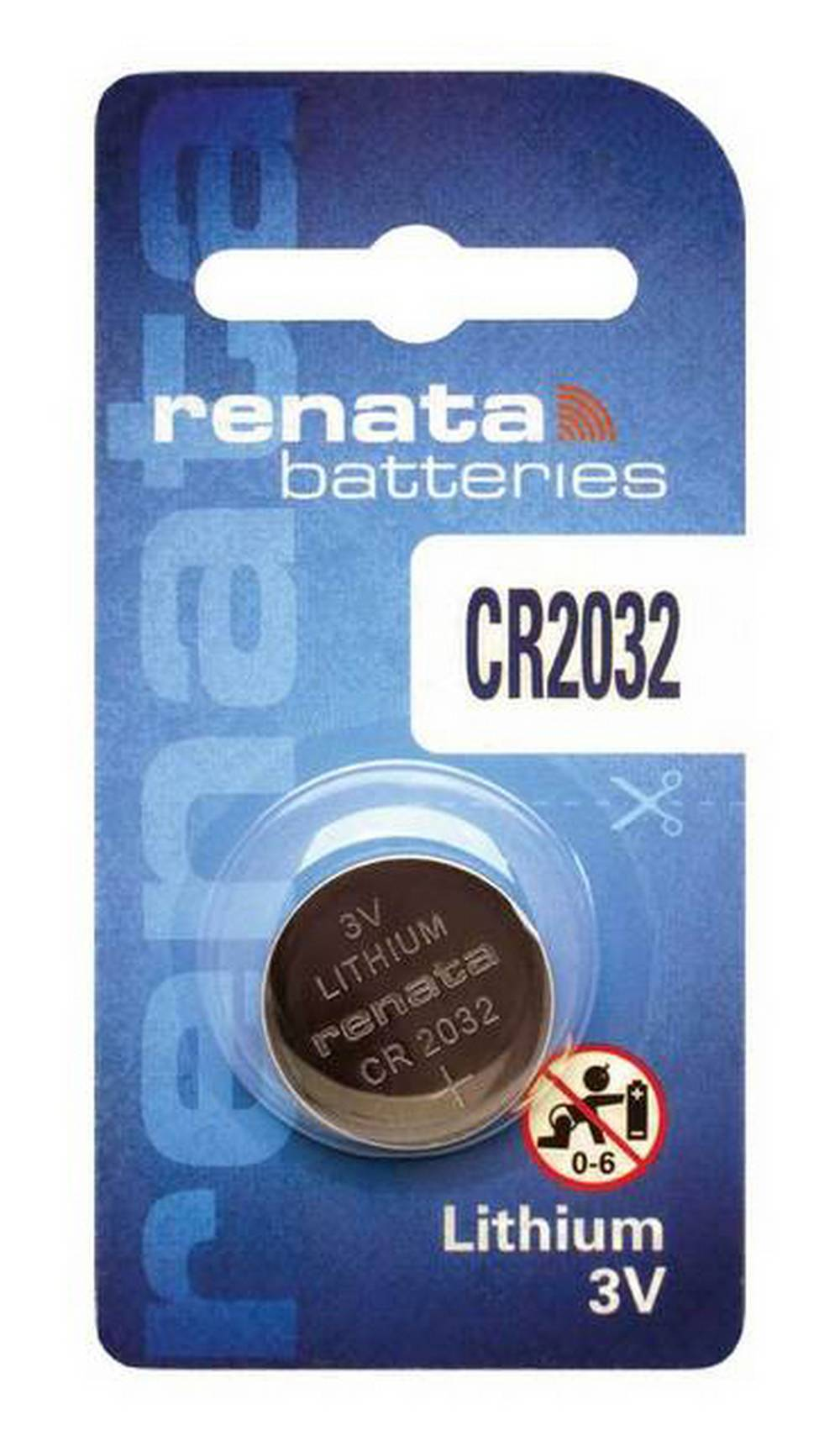 Buttoncell Lithium Electronics Renata CR2032 Τεμ. 1