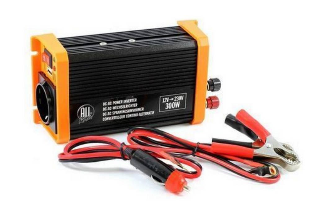 Μετασχηματιστής Ρεύματος All Ride 12V / 230V 300W + USB
