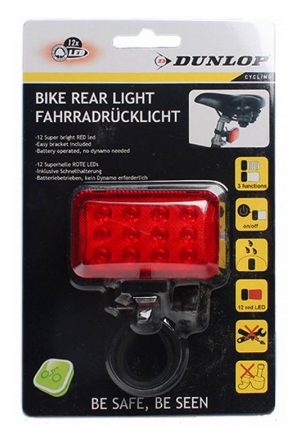 Φακός Ποδηλάτου Dunlop Πίσω Φώς 12 Led