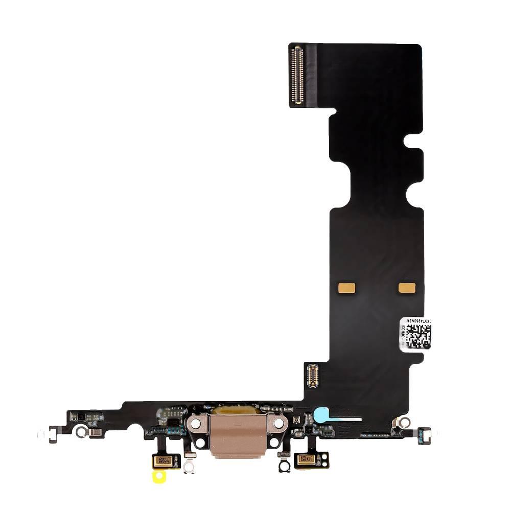 Επαφή Φόρτισης Apple iPhone 8 Plus με Μικρόφωνο Χρυσαφί OEM Type A