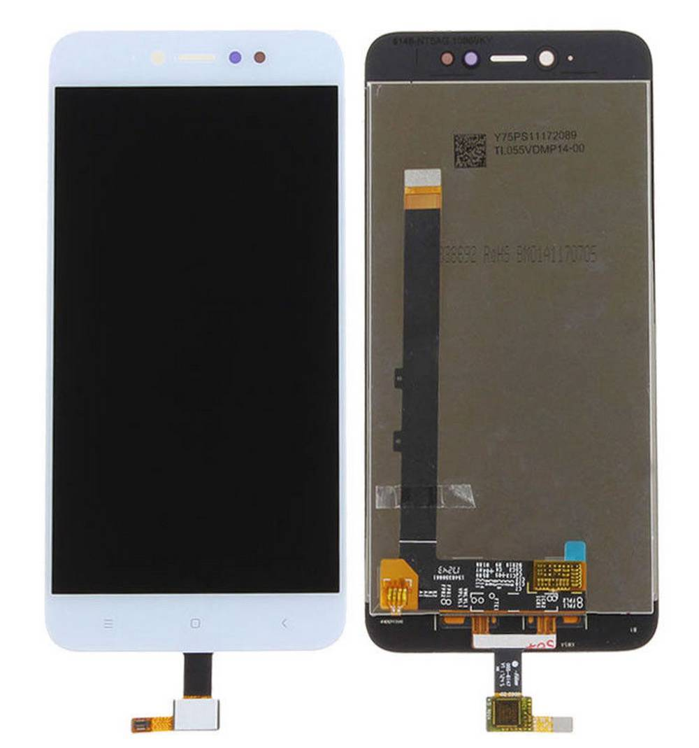 Οθόνη & Μηχανισμός Αφής Xiaomi Redmi Note 5A Prime Λευκό (Διάσταση:150mm)